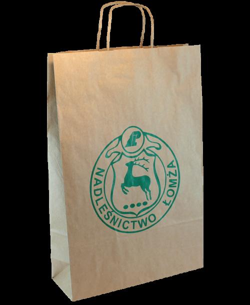 Torba papierowa brązowa ECO-BAG 22