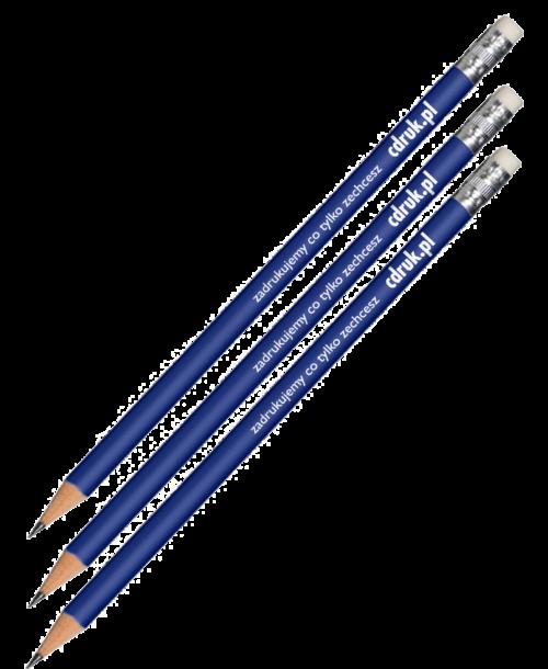 Ołówek z gumką kolor